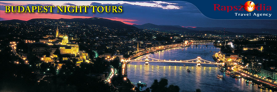 Illumination tours in Budapest